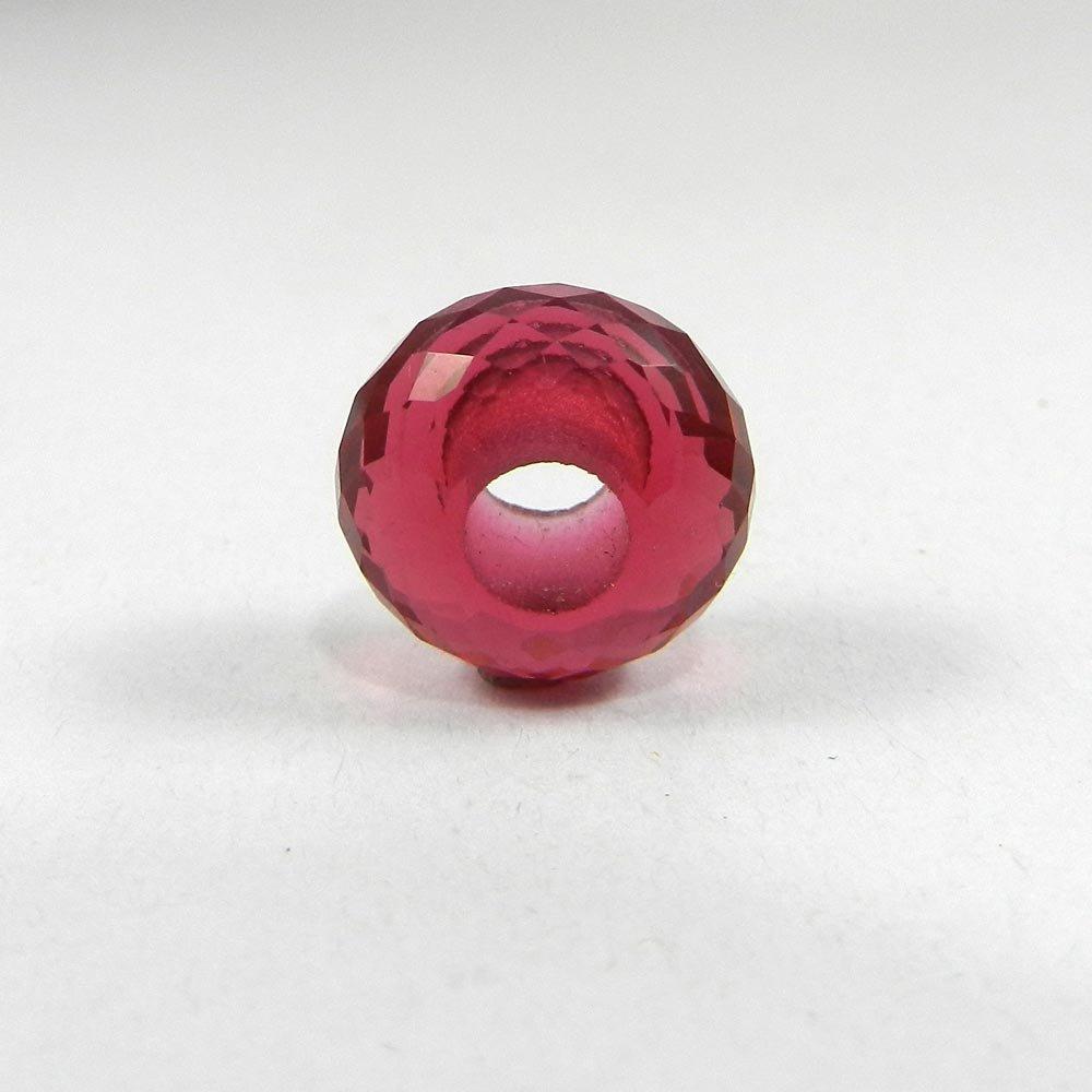 Pink Amethyst Hydro Roundel Facet Beads For Bracelet Making