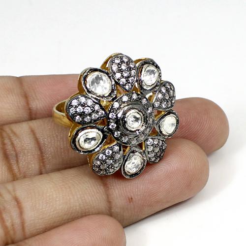 Ravishing Designer Collection CZ Gemstone Ring Solid 925 Sterling Silver Ring Women Wedding Engagement Rings Designer Gift Ring