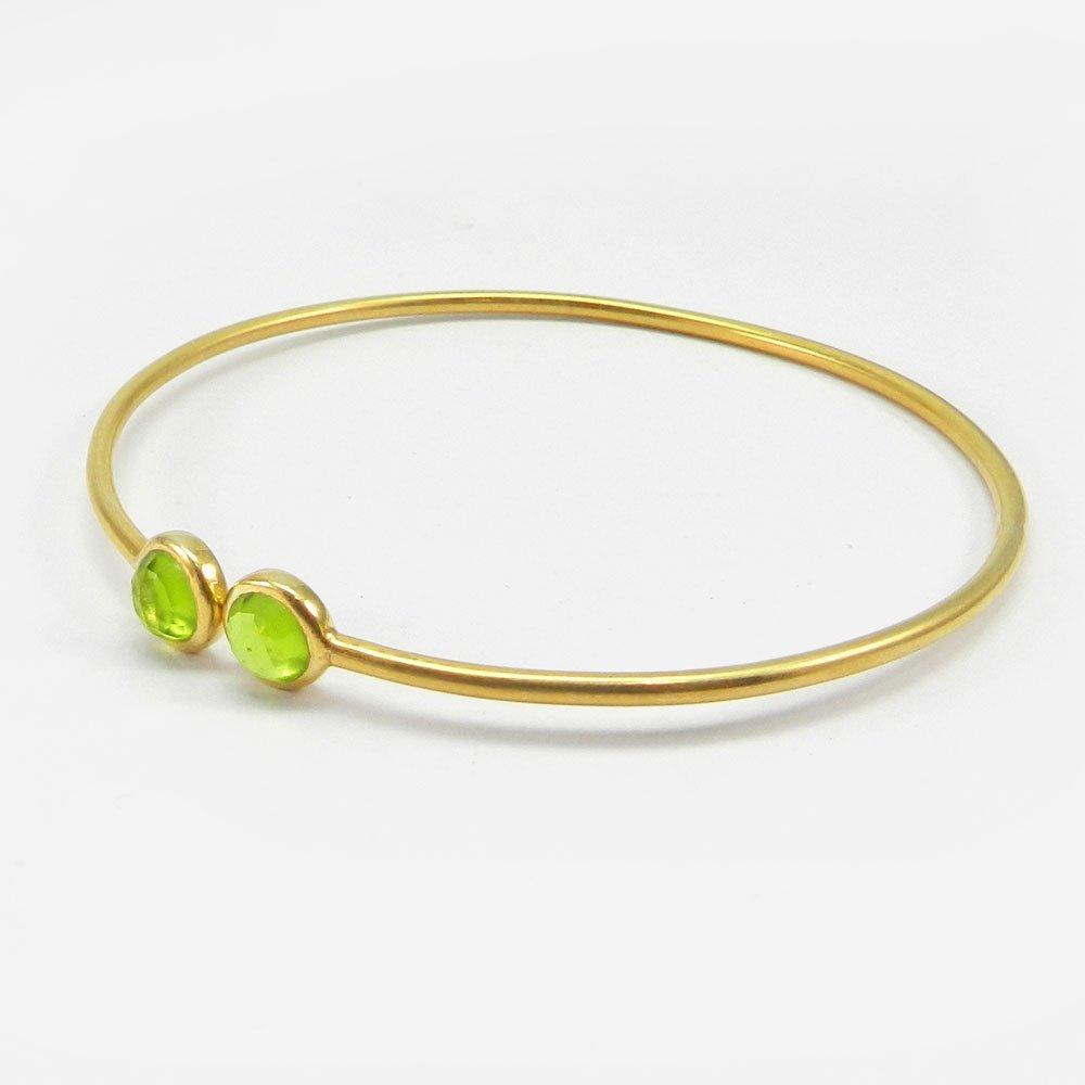Soraya Rose Quartz 925 Sterling Silver Adjustable Bracelet