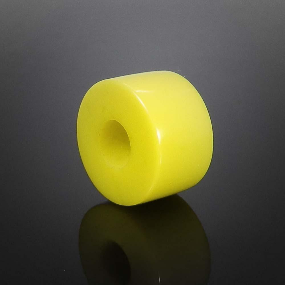 Syn. Yellow chalcedony big hole gemstone beads for bracelet making