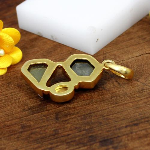 Wholesale Collection Multi Gemstone Pendant Fine Bezel Setting Pendant Gold Plated Solitaire Jewelry Women Everyday Wear Pendant