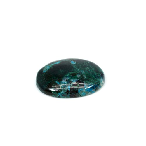 Wholesale Natural Chrysocolla 28x23mm Oval Cabochon 37 Cts Loose Gemstone