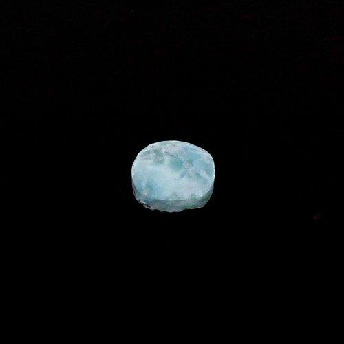 Wholesale Natural Larimar 10mm Cushion Cabochon 3.55 Cts Loose Gemstone For Jewelry Making