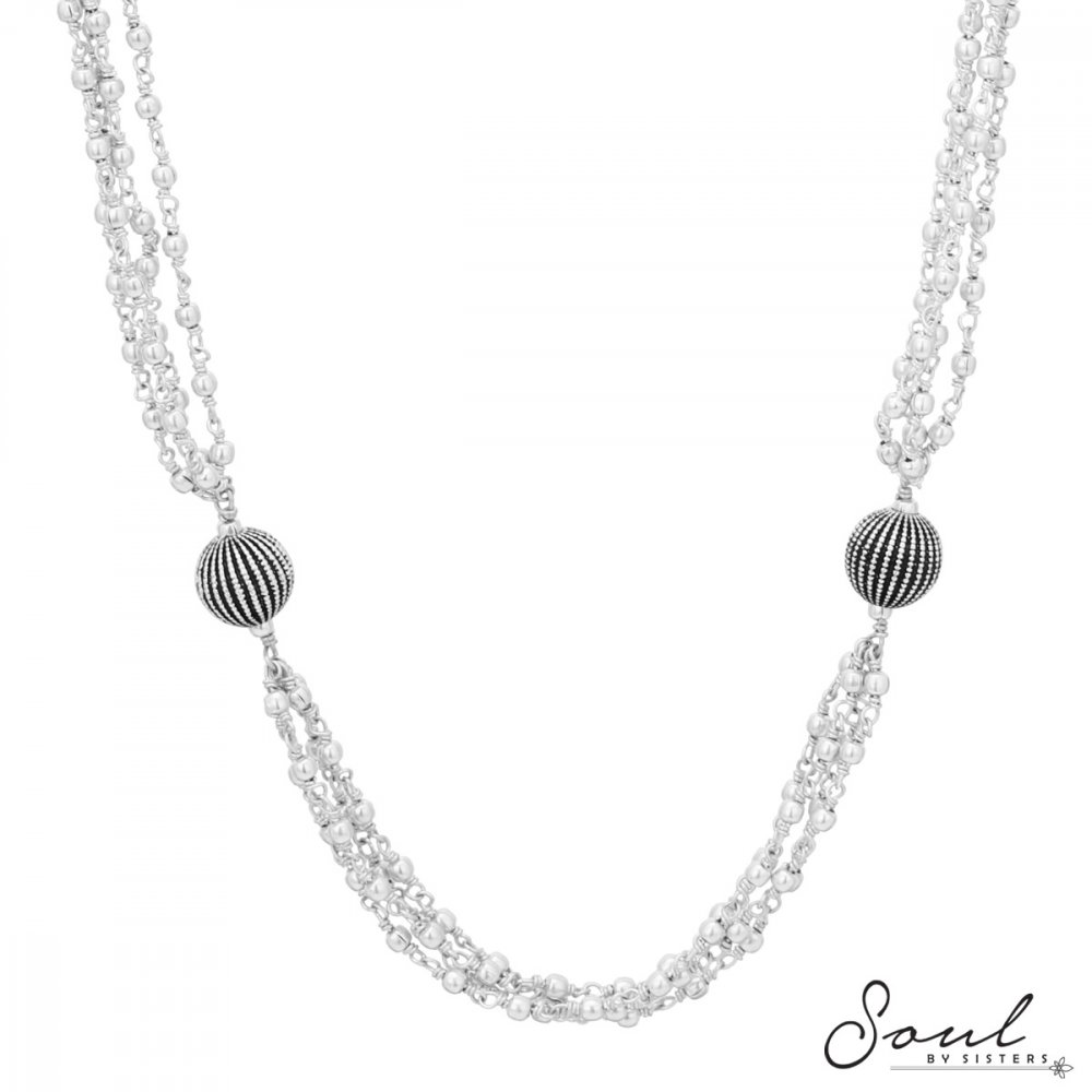Four Strings Necklace