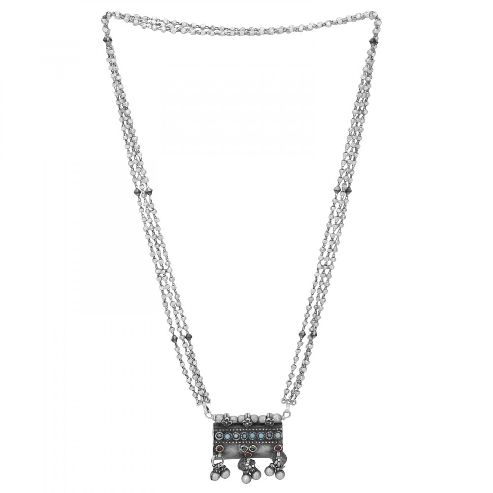 Old Silver Tabeez Necklace