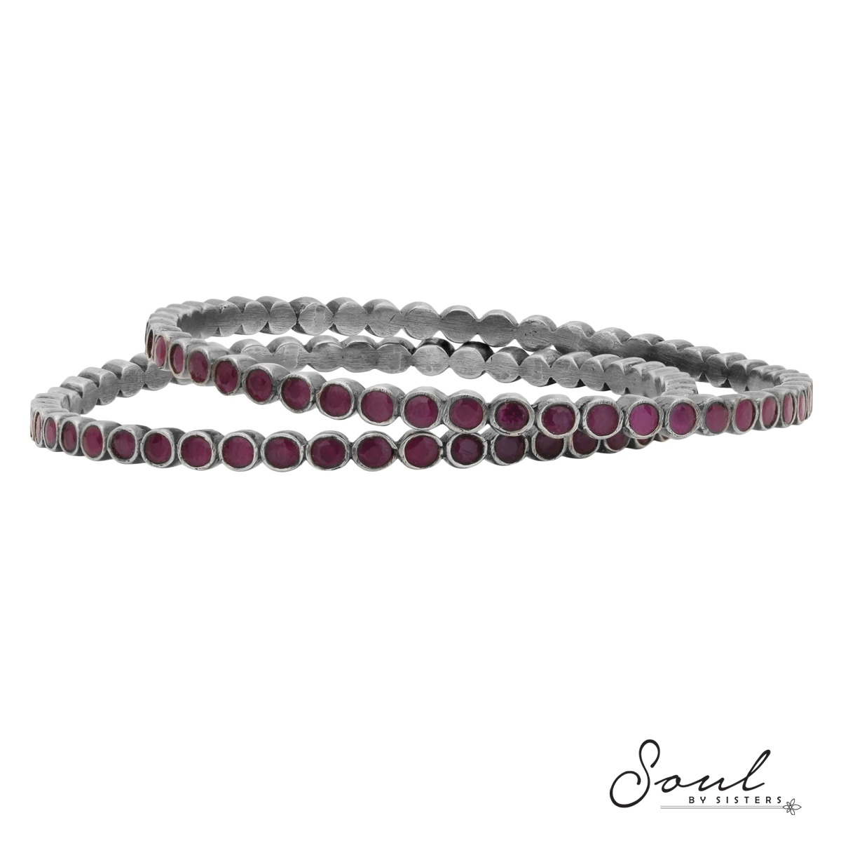 Ruby Temple Bangles