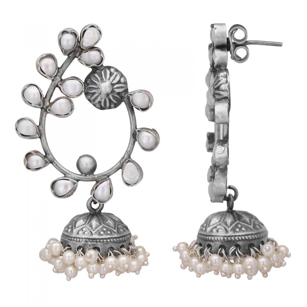 Statement Pearl Earrings