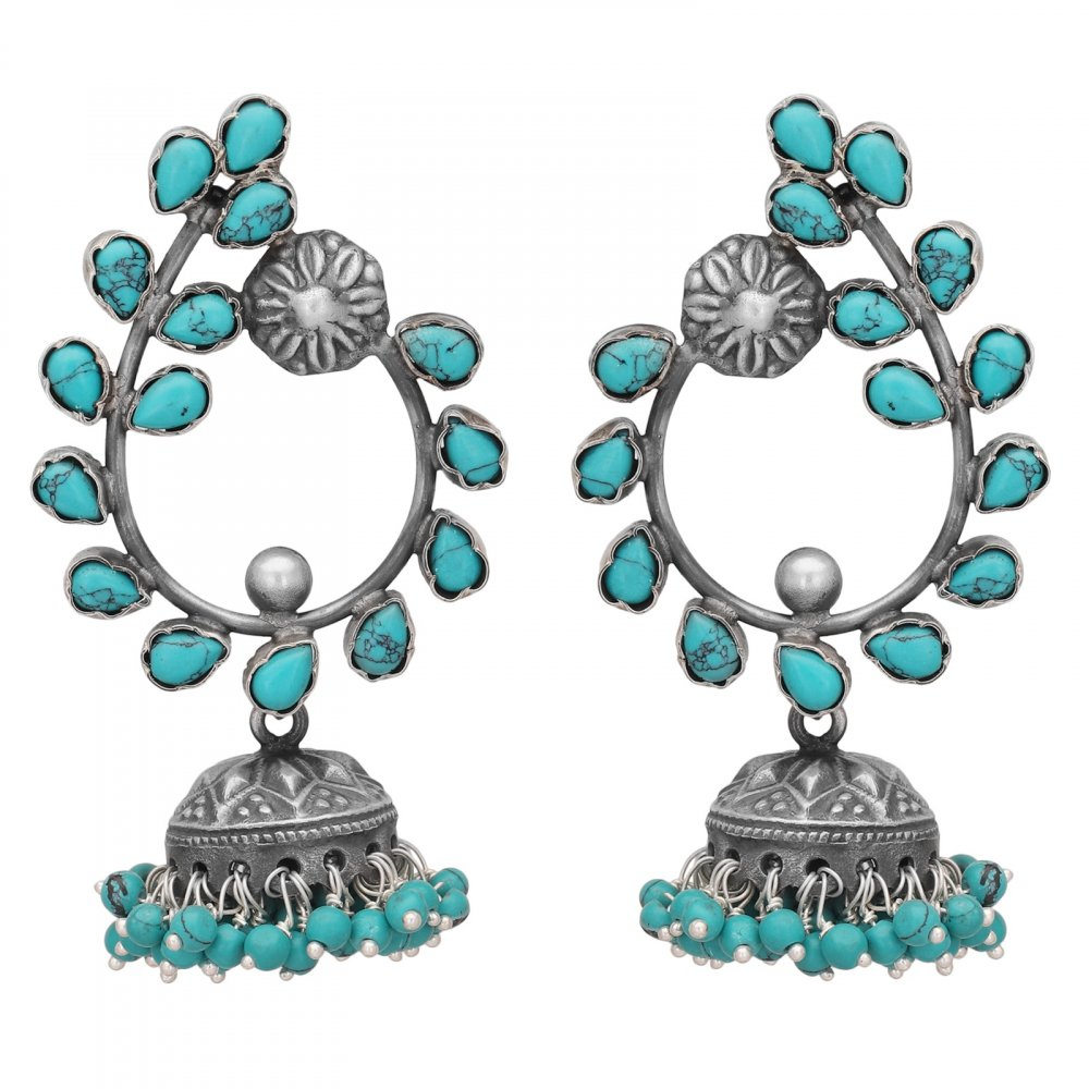 Statement Turquoise Earrings