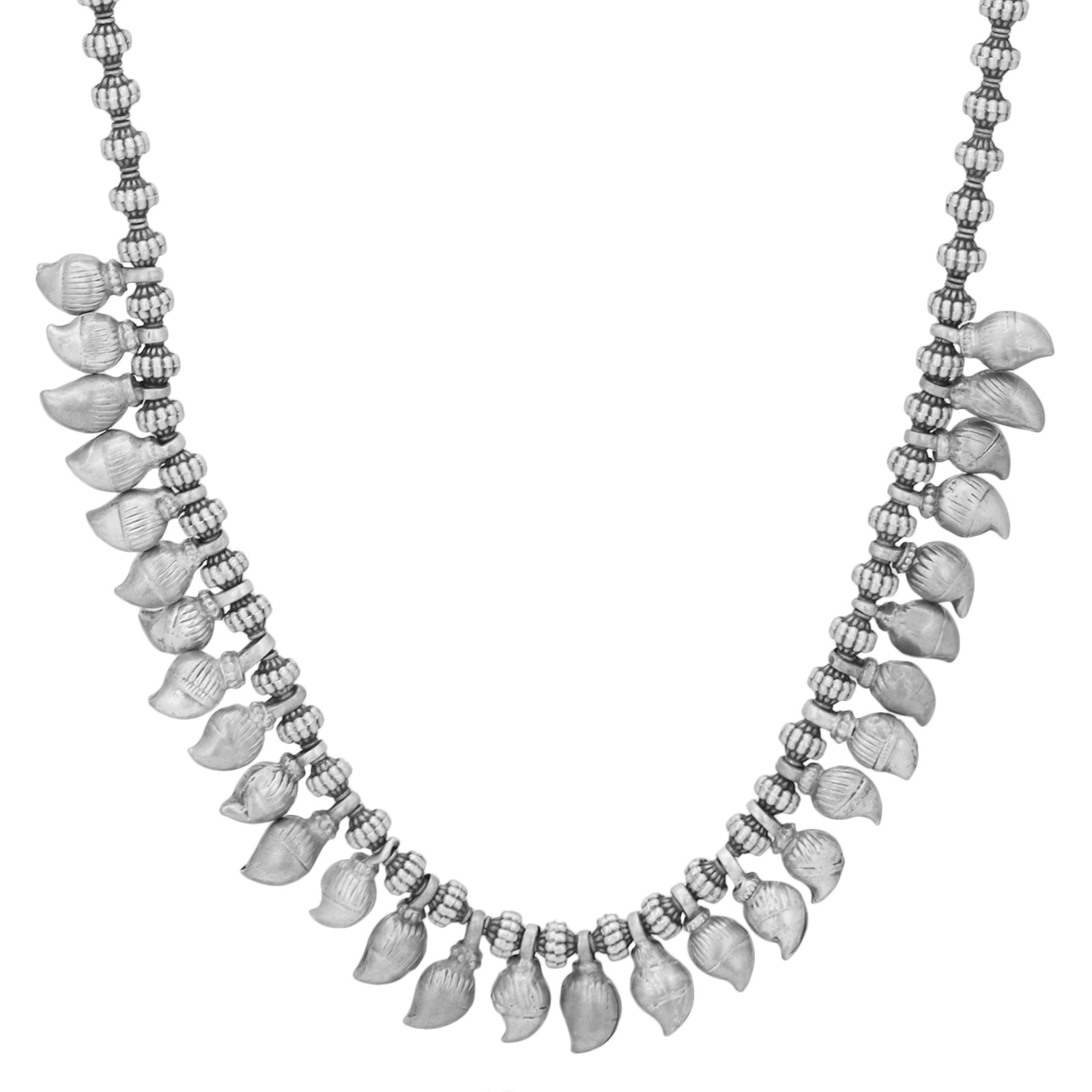 Tribal Old Silver Ambi Neclace