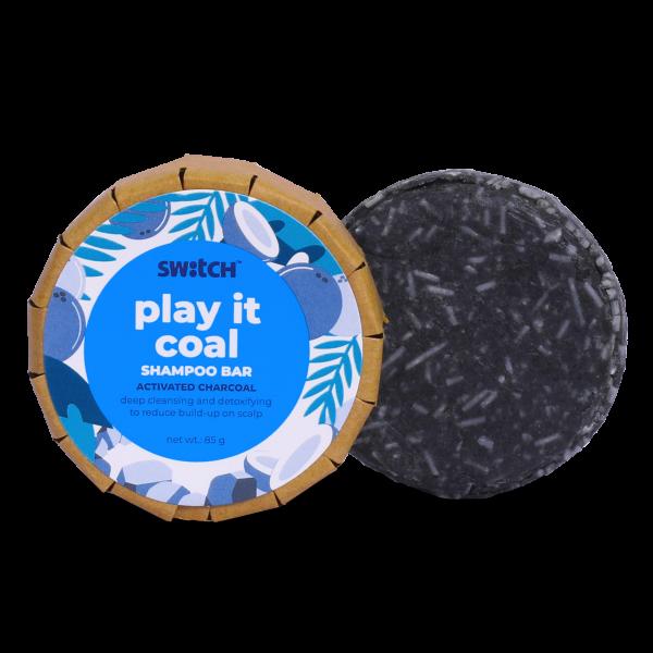 Deep Cleansing Play It Coal Shampoo Bar for Oily Hair - 85g