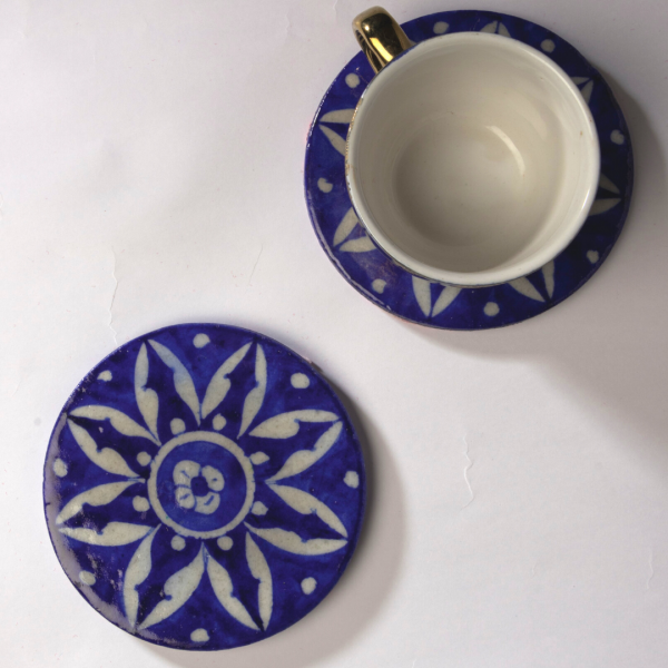 Blue Pottery Coasters
