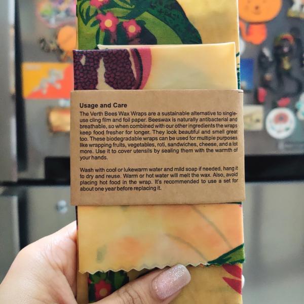 Verth Kitchen Beeswax Wraps