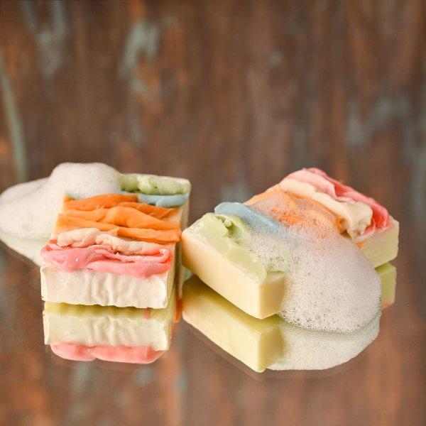 Rainbow Bathing Soap Bar