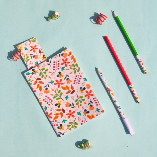 Seed Paper Stationery Set