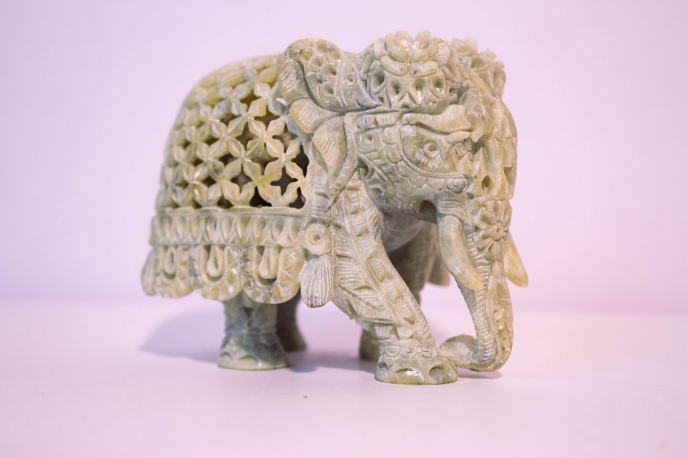 Elephant with inner cut baby elephant